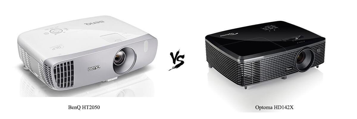 BenQ HT2050 vs Optoma HD142X