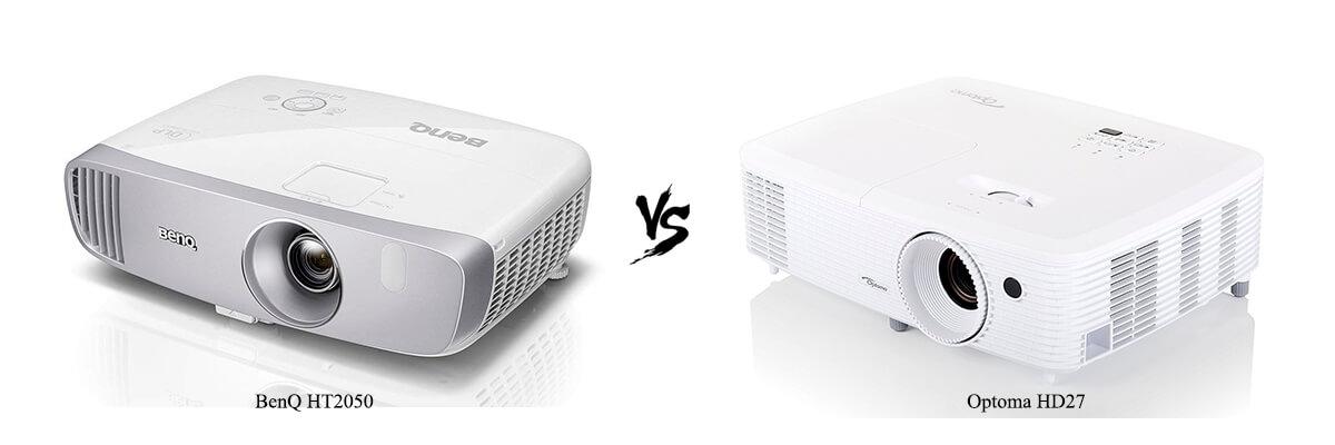 BenQ HT2050 vs Optoma HD27